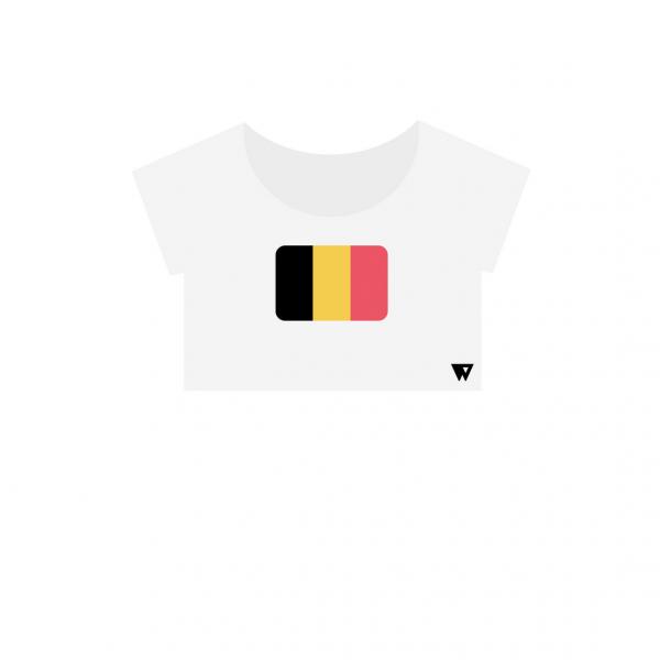Crop Top Belgium | Wuzzee