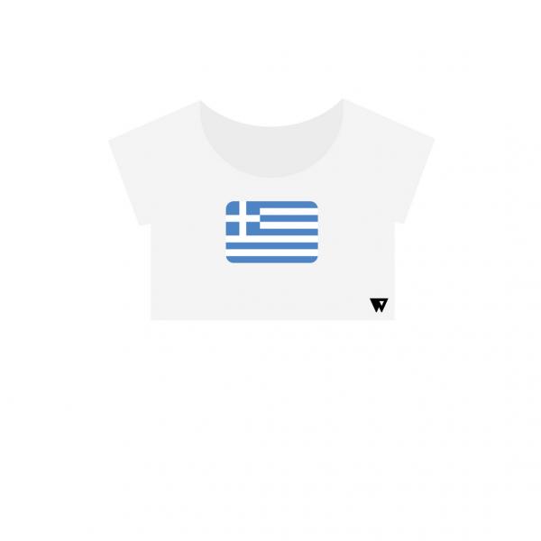 Crop Top Greece | Wuzzee