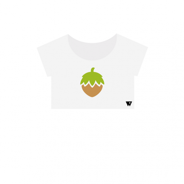 Crop Top Hazelnut | Wuzzee