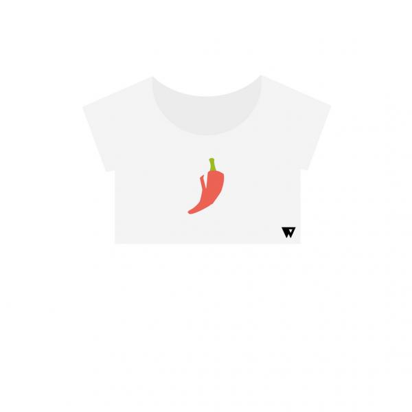 Crop Top Hot Pepper | Wuzzee