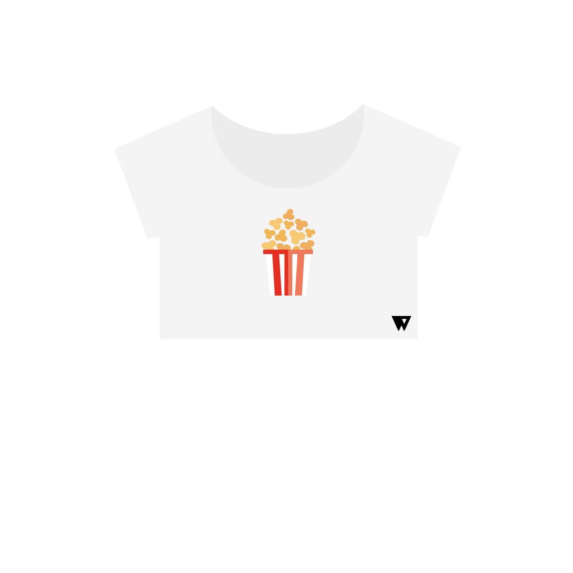 Crop Top Popcorn | Wuzzee
