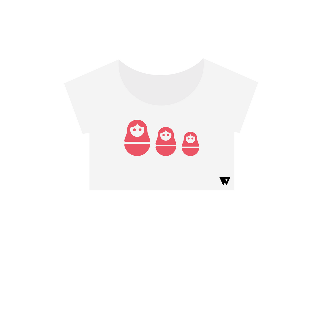 Crop Top Russian Dolls | Wuzzee