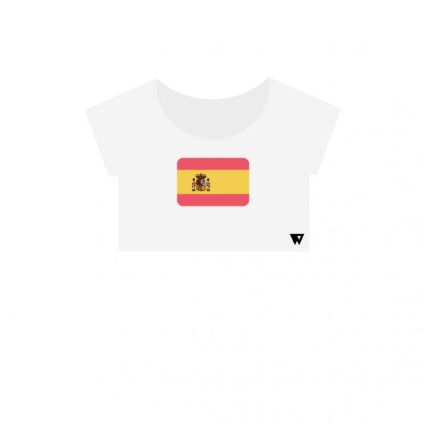 Crop Top Spain | Wuzzee