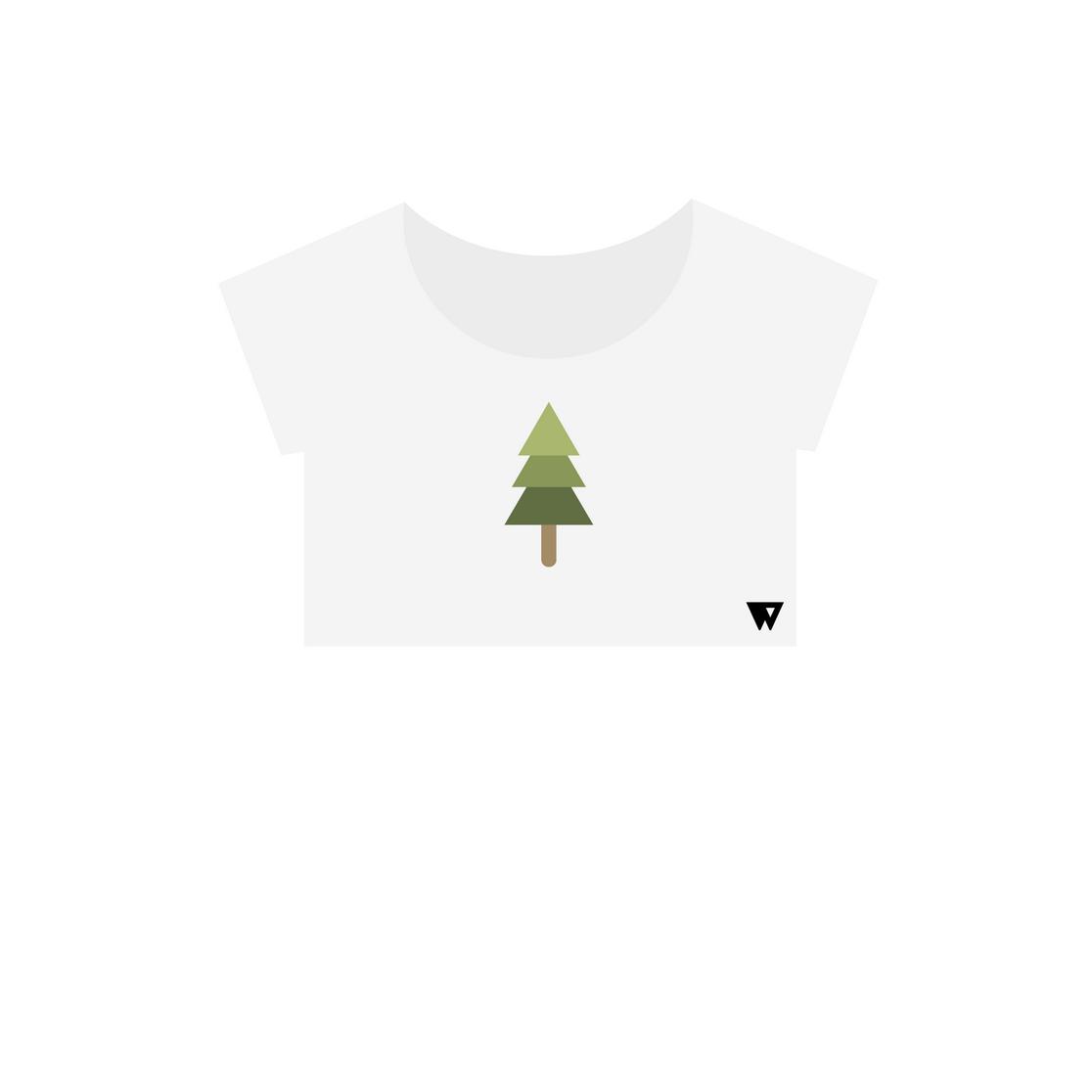 Crop Top Spruce | Wuzzee