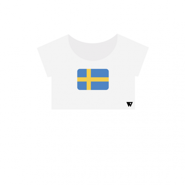 Crop Top Sweden | Wuzzee