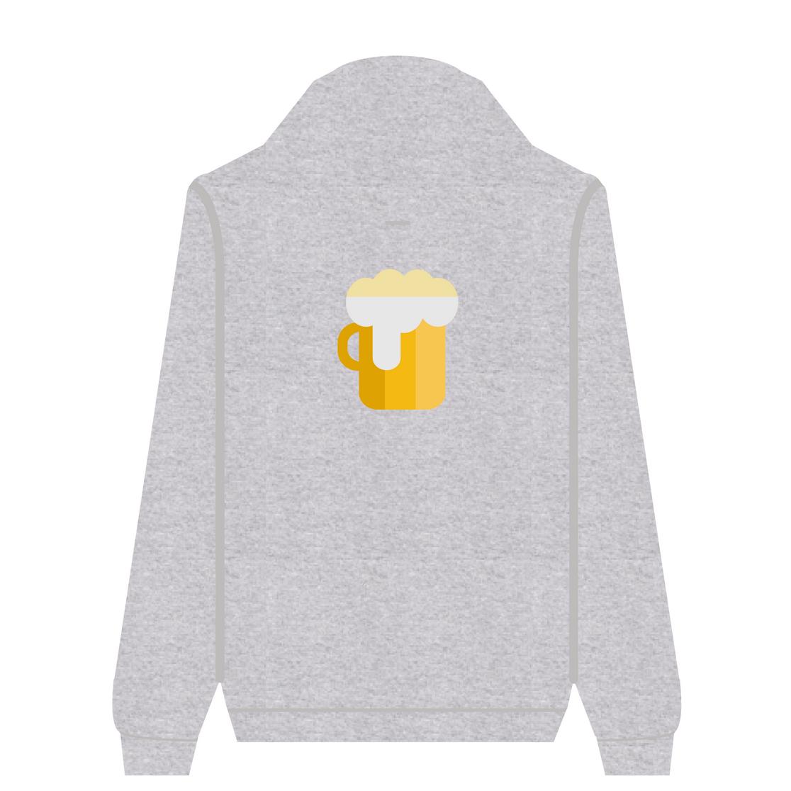 Full Zip Hoodie Beer | Wuzzee