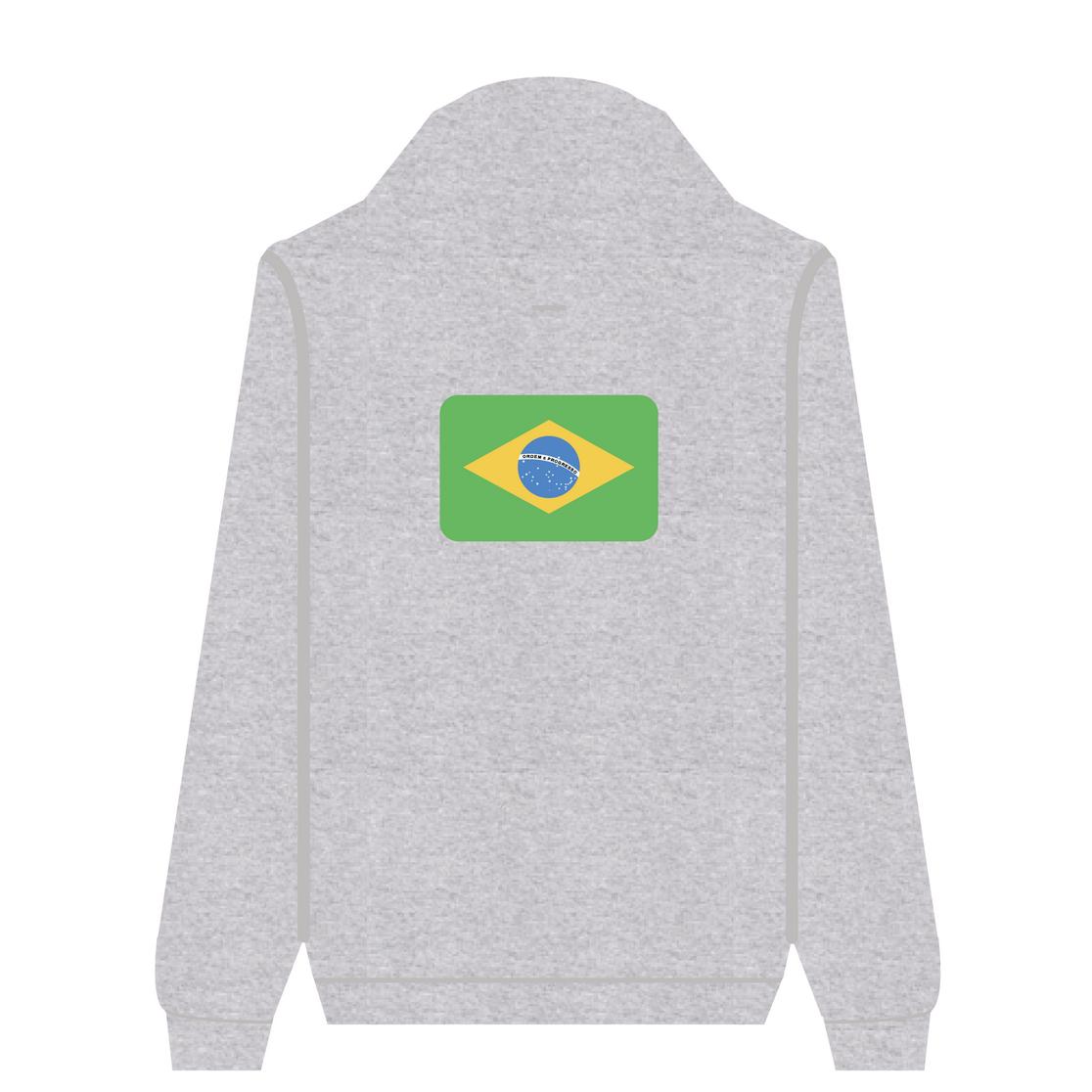 Full Zip Hoodie Brazil | Wuzzee
