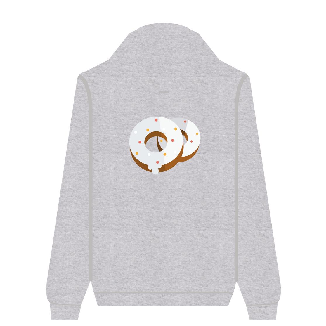 Full Zip Hoodie Donuts | Wuzzee