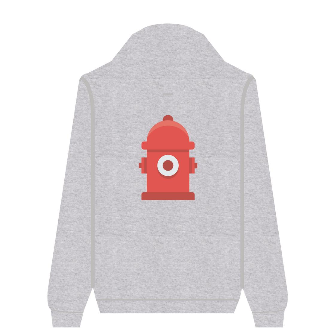 Full Zip Hoodie Fire Hydrant | Wuzzee