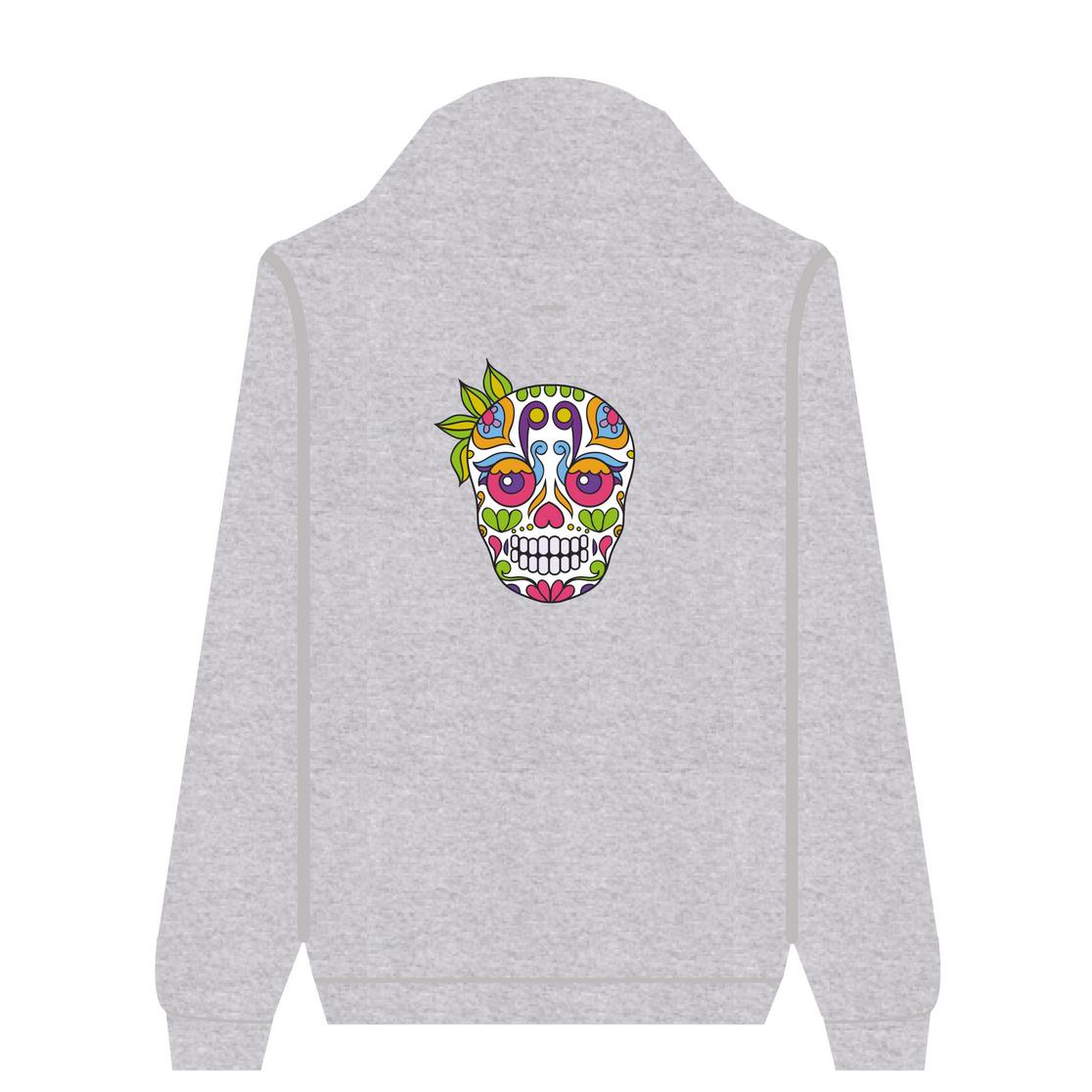 Full Zip Hoodie Ganja Skull | Wuzzee