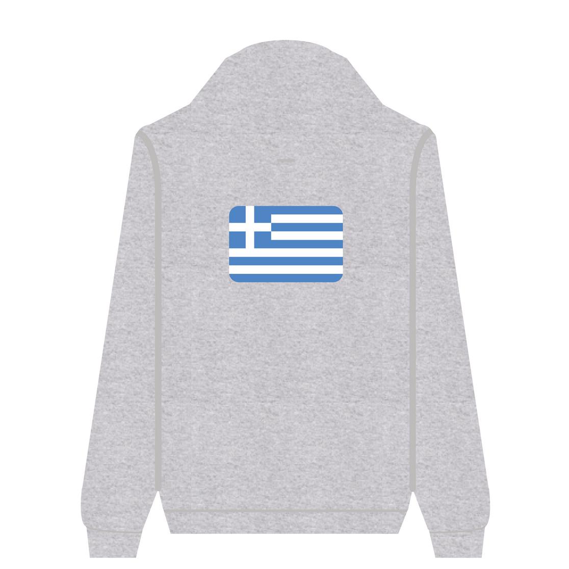 Full Zip Hoodie Greece | Wuzzee