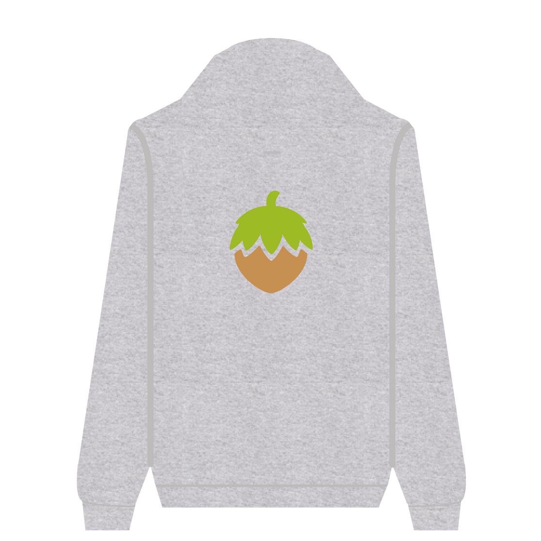 Full Zip Hoodie Hazelnut | Wuzzee