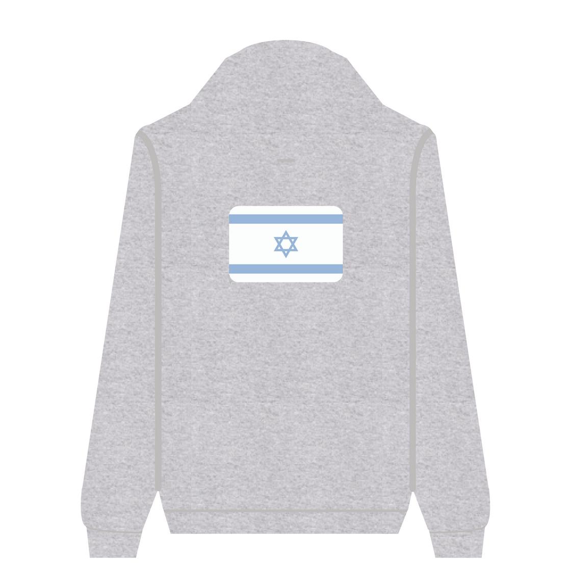 Full Zip Hoodie Israel | Wuzzee