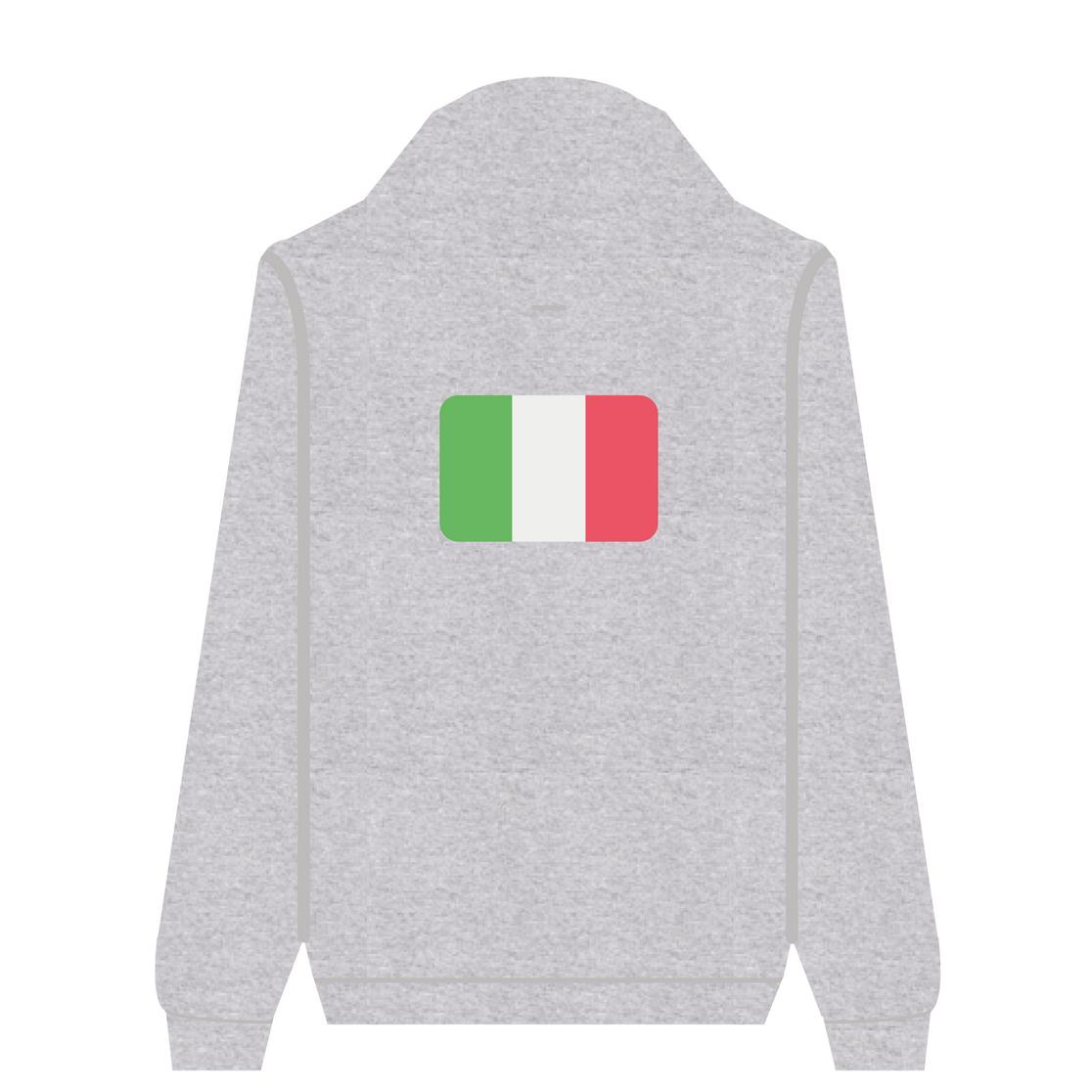 Full Zip Hoodie Italy | Wuzzee