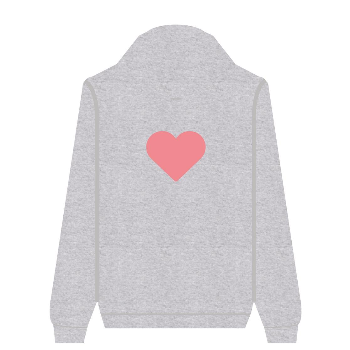 Full Zip Hoodie Love | Wuzzee