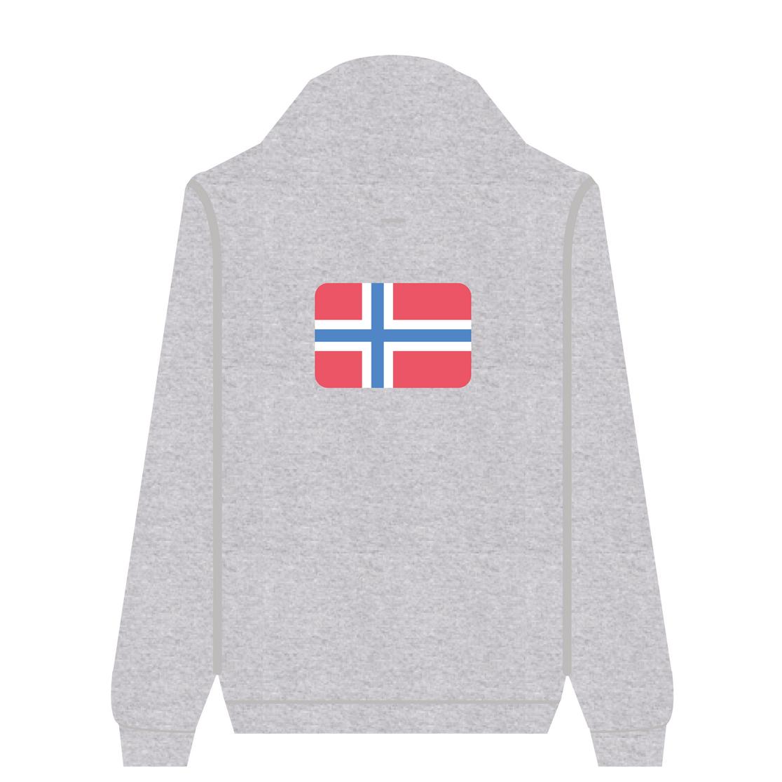 Full Zip Hoodie Norway | Wuzzee