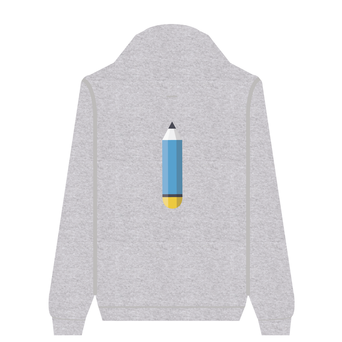 Full Zip Hoodie Pencil | Wuzzee