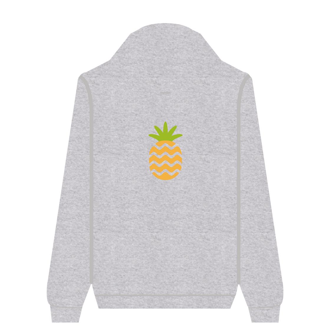 Full Zip Hoodie Pineapple | Wuzzee