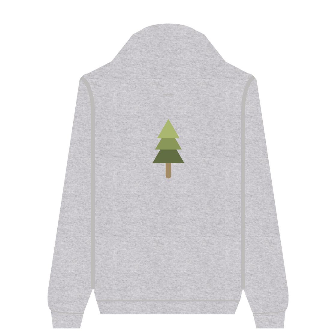 Full Zip Hoodie Spruce | Wuzzee