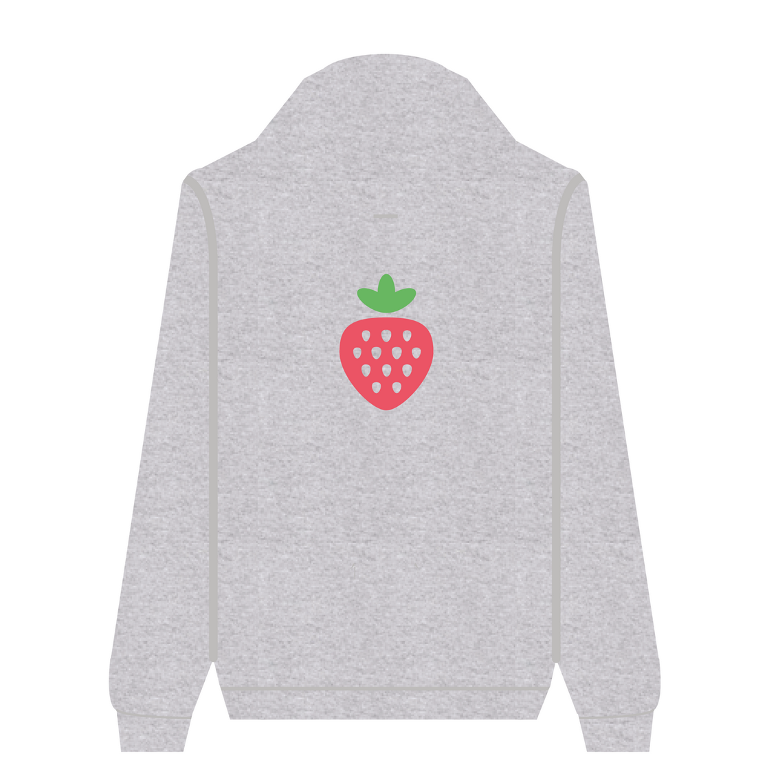 Full Zip Hoodie Strawberry | Wuzzee