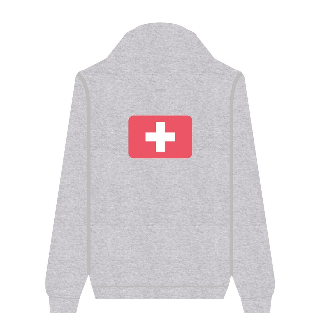 Full Zip Hoodie Swiss | Wuzzee
