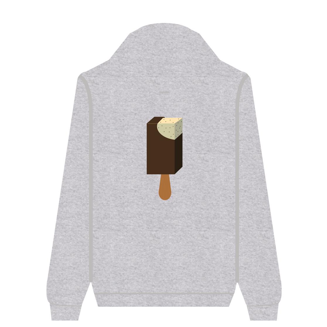 Full Zip Hoodie Vanilla Stick Bar | Wuzzee