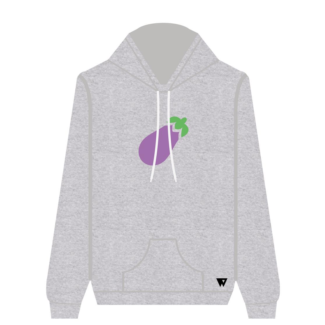 Hoodie Eggplant | Wuzzee