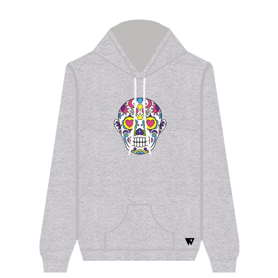 Hoodie Love Skull | Wuzzee