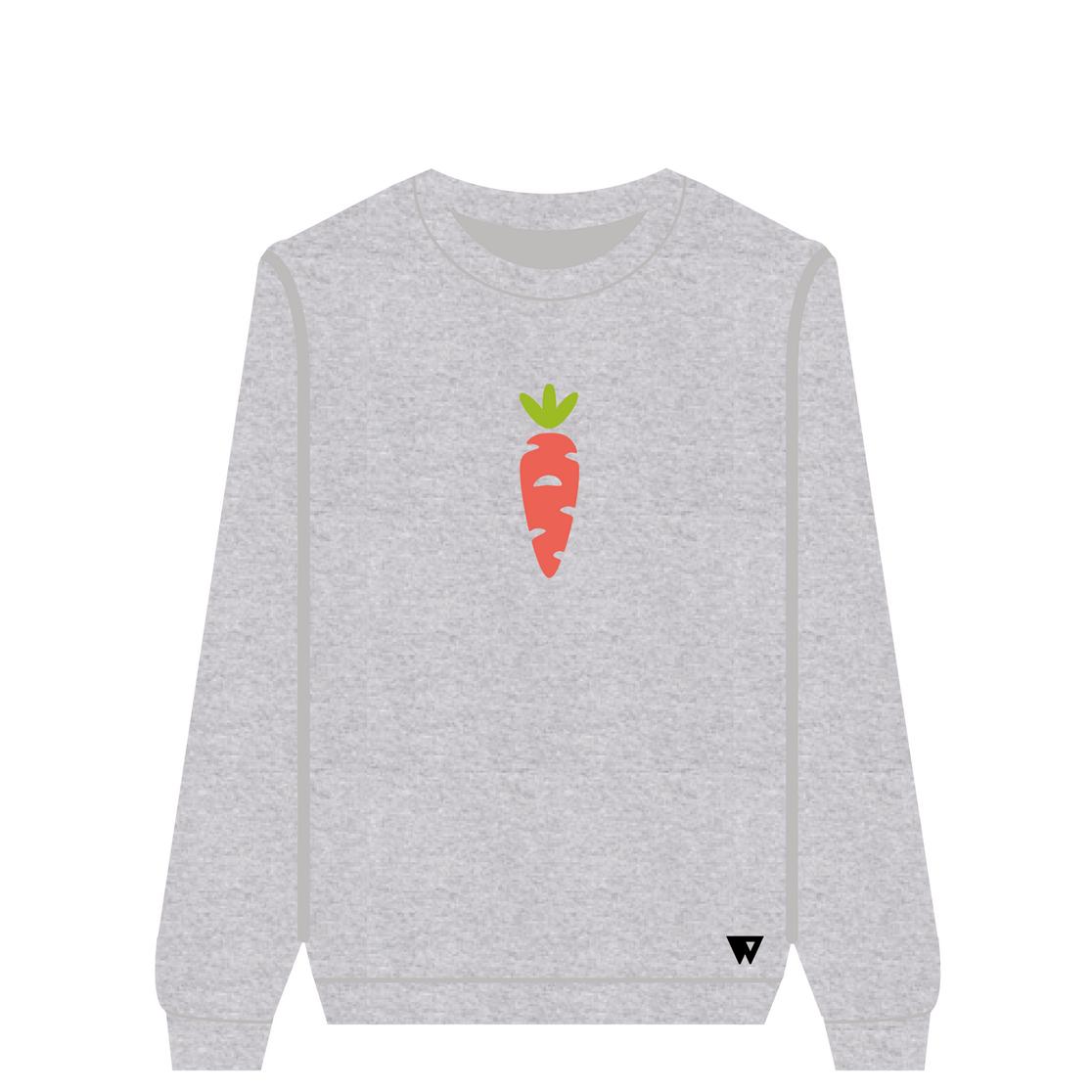 Sweatshirt Carrot | Wuzzee