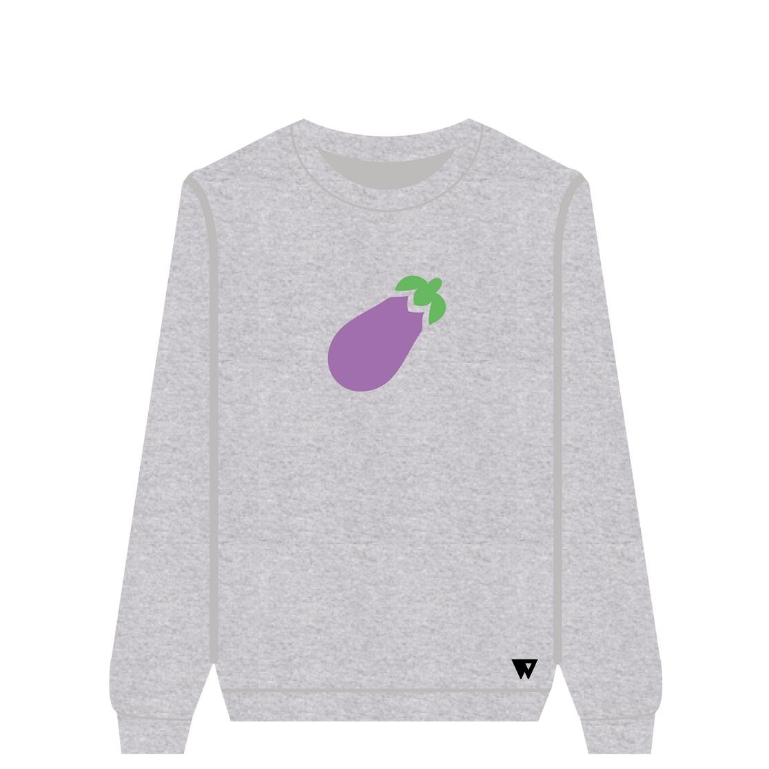 Sweatshirt Eggplant | Wuzzee