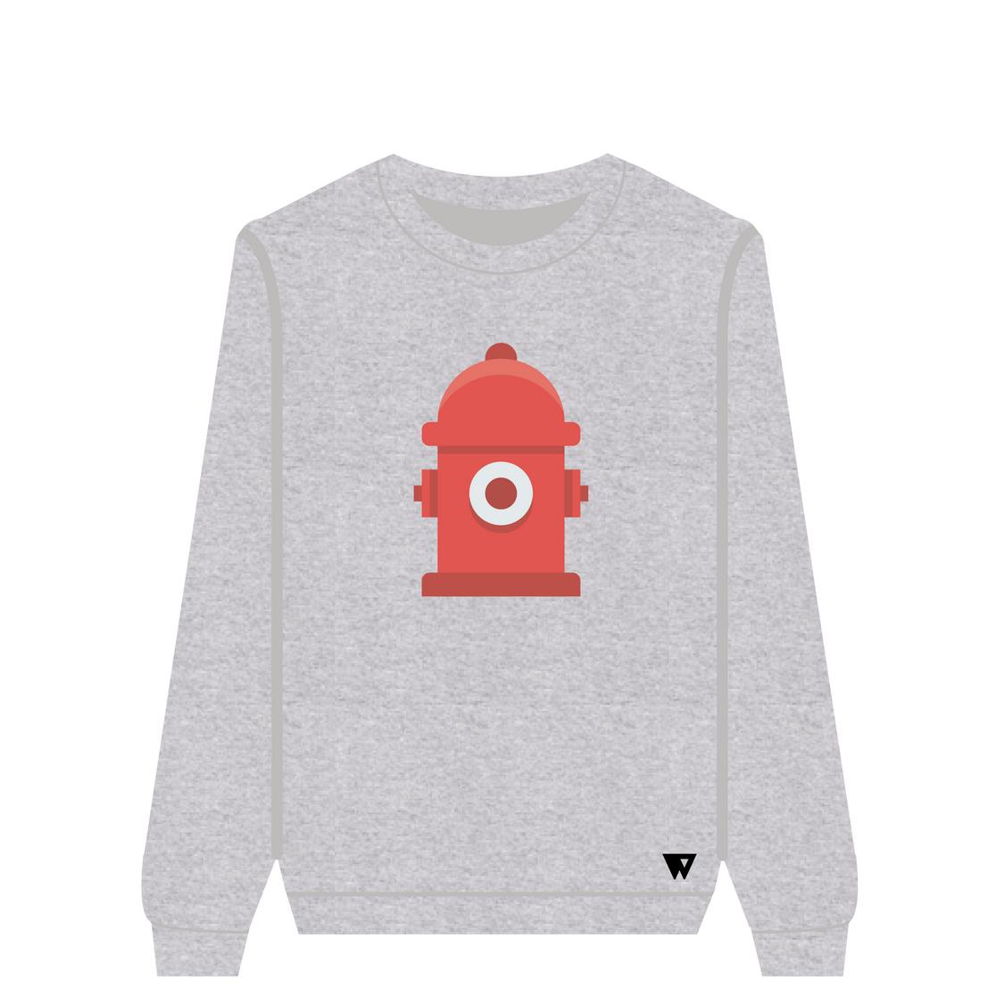 Sweatshirt Fire Hydrant   Wuzzee