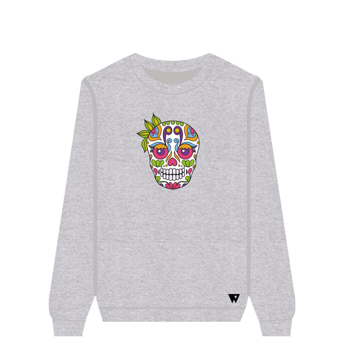 Sweatshirt Ganja Skull | Wuzzee