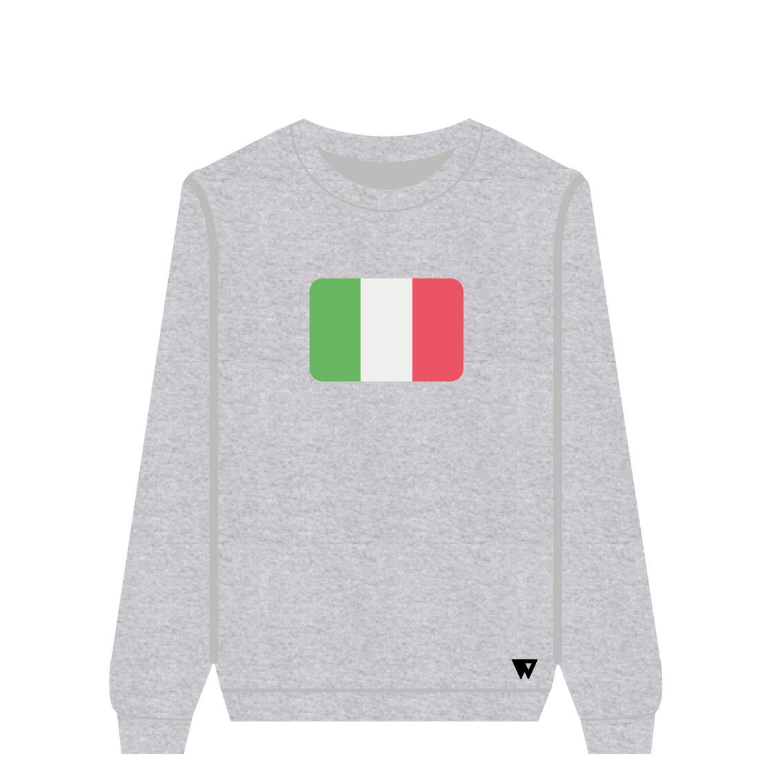 Sweatshirt Italy | Wuzzee