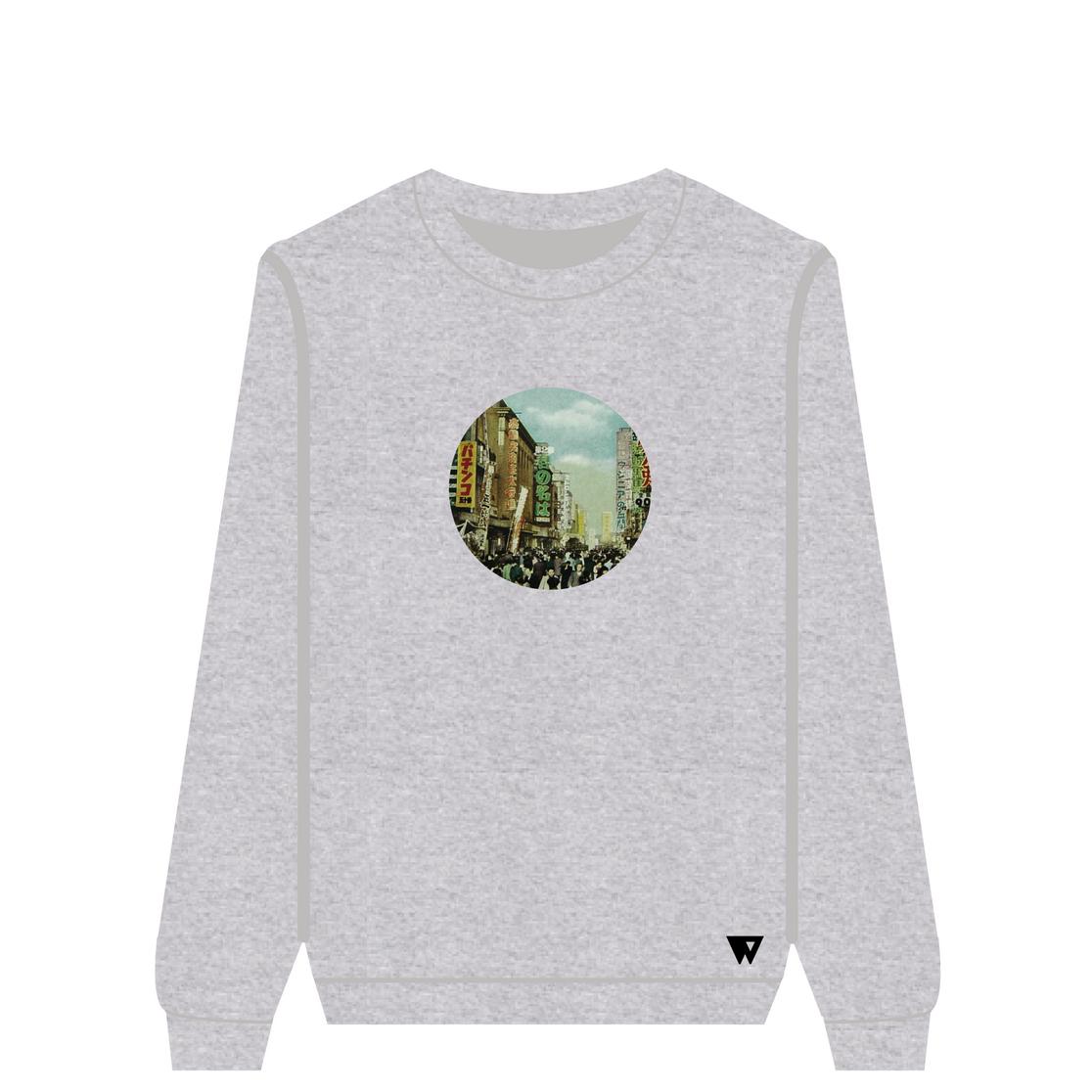 Sweatshirt Retro China | Wuzzee