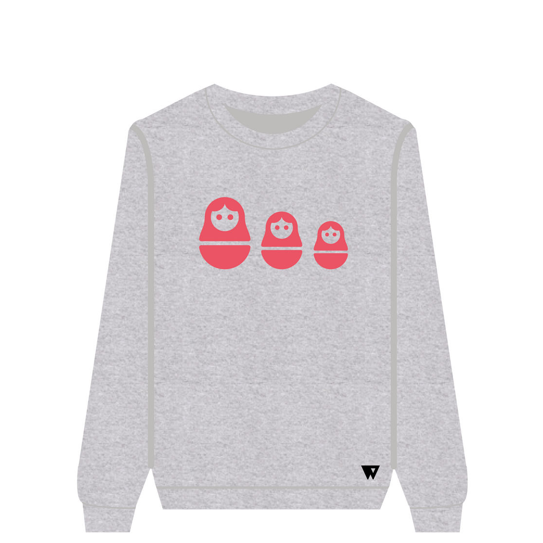 Sweatshirt Russian Dolls |Wuzzee