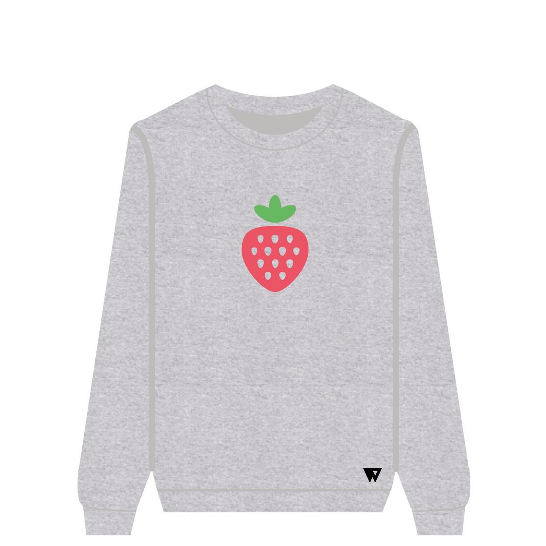Sweatshirt Strawberry | Wuzzee