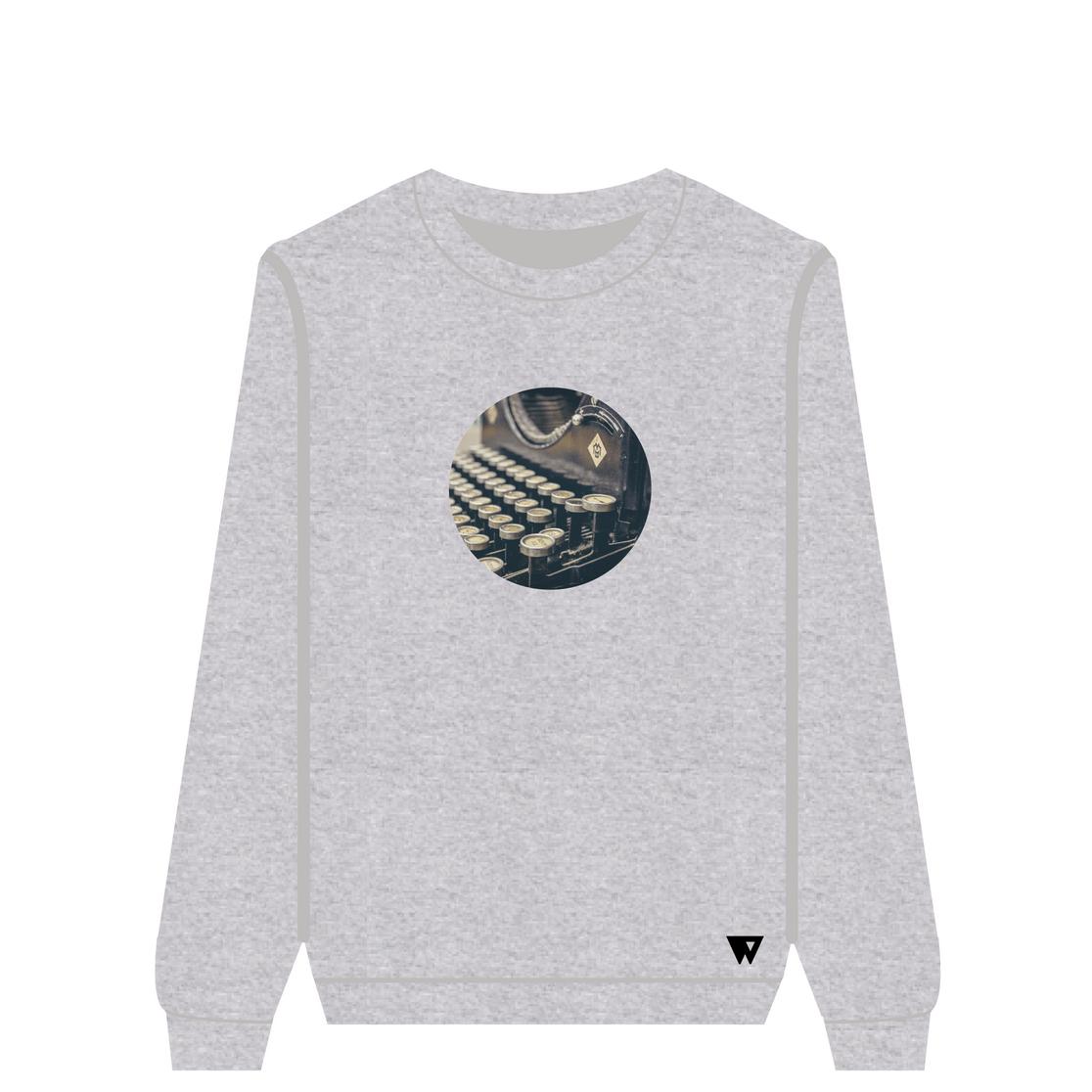 Sweatshirt Typeprint   Wuzzee