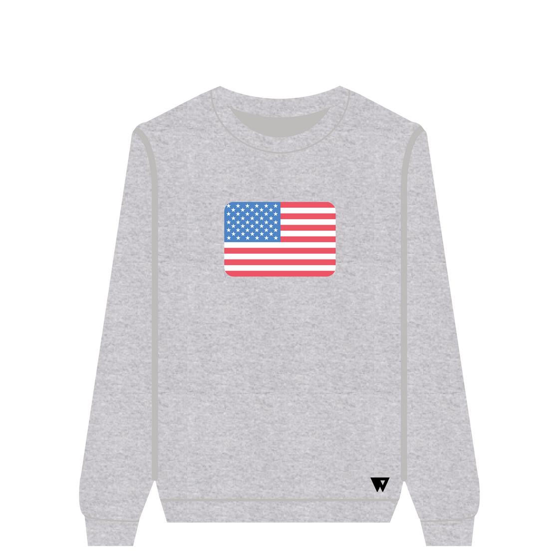 Sweatshirt Usa | Wuzzee