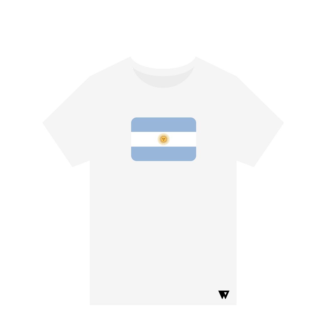 T-Shirt Argentina | Wuzzee