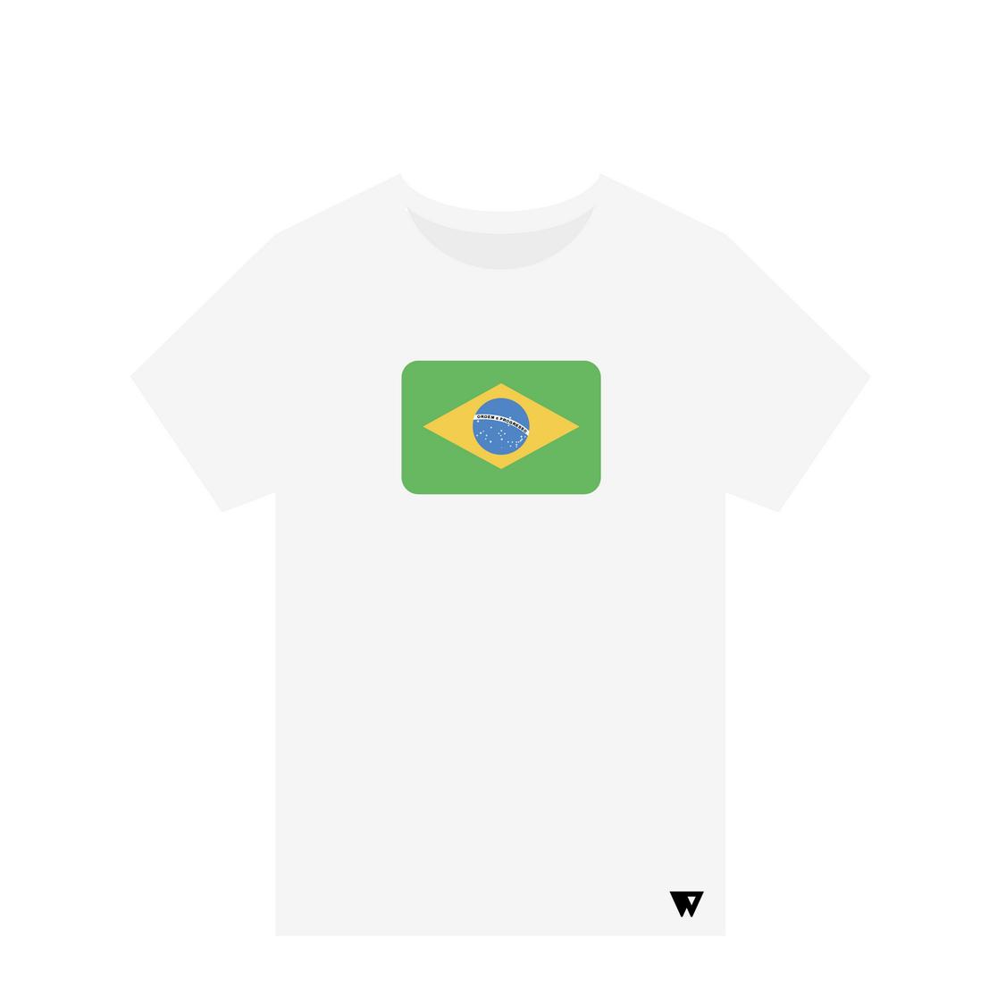 T-Shirt Brazil | Wuzzee