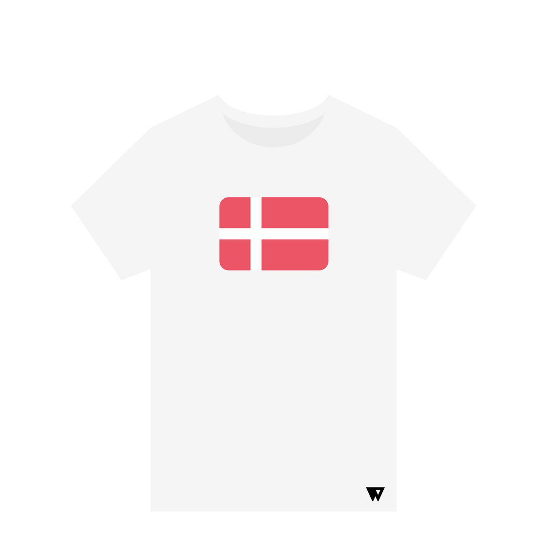 T-Shirt Denmark | Wuzzee