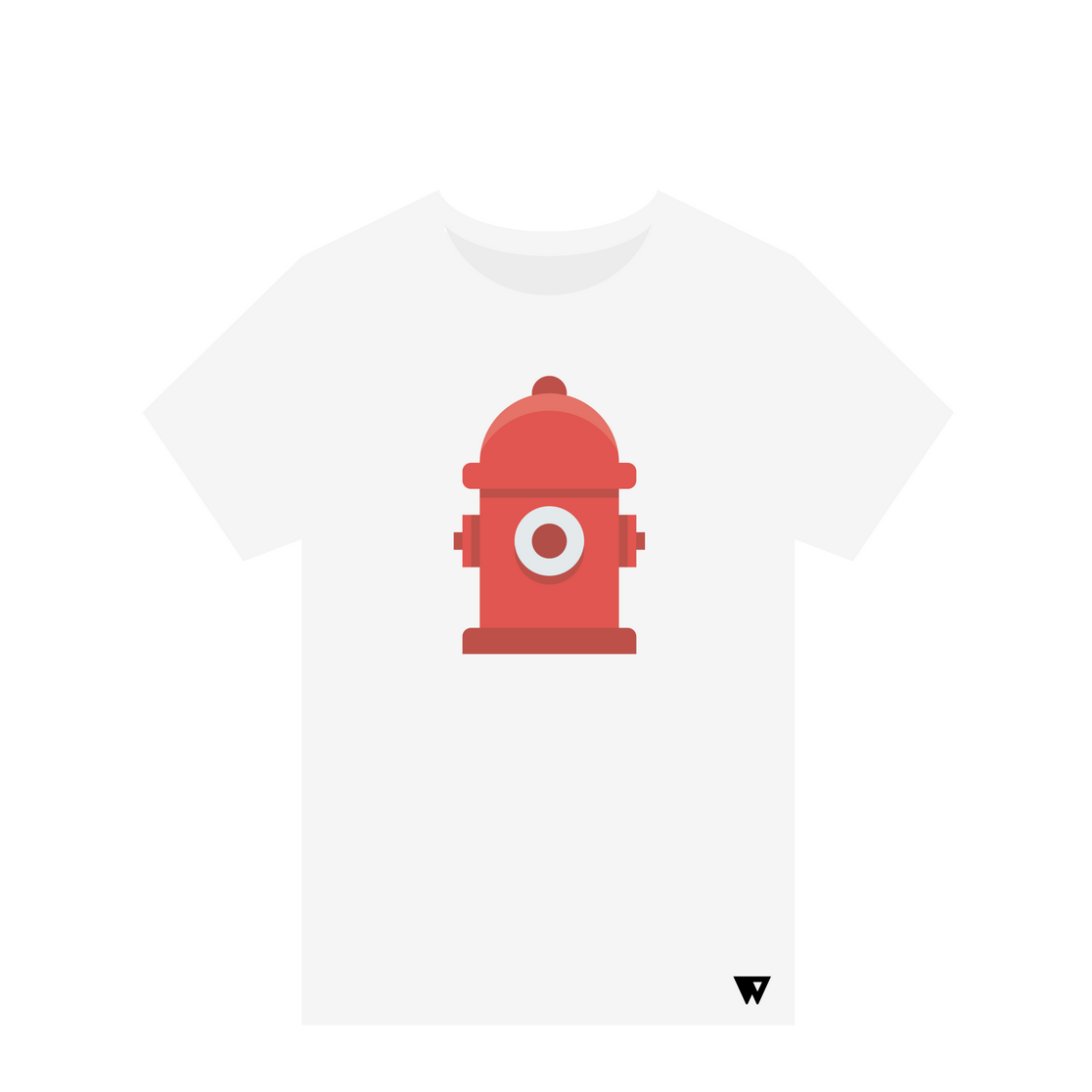 T-Shirt Fire Hydrant | Wuzzee