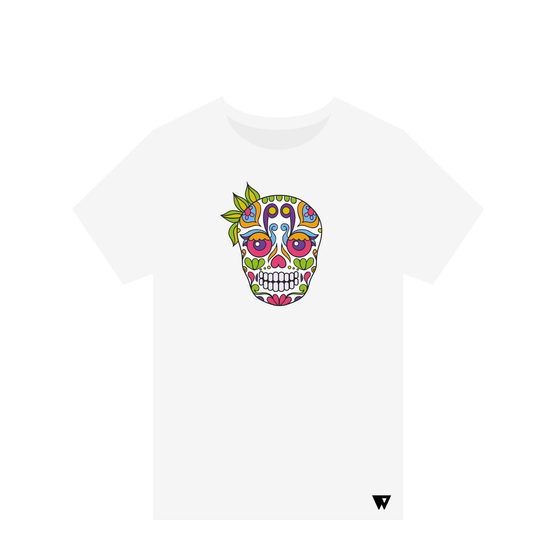 T-Shirt Ganja Skull | Wuzzee