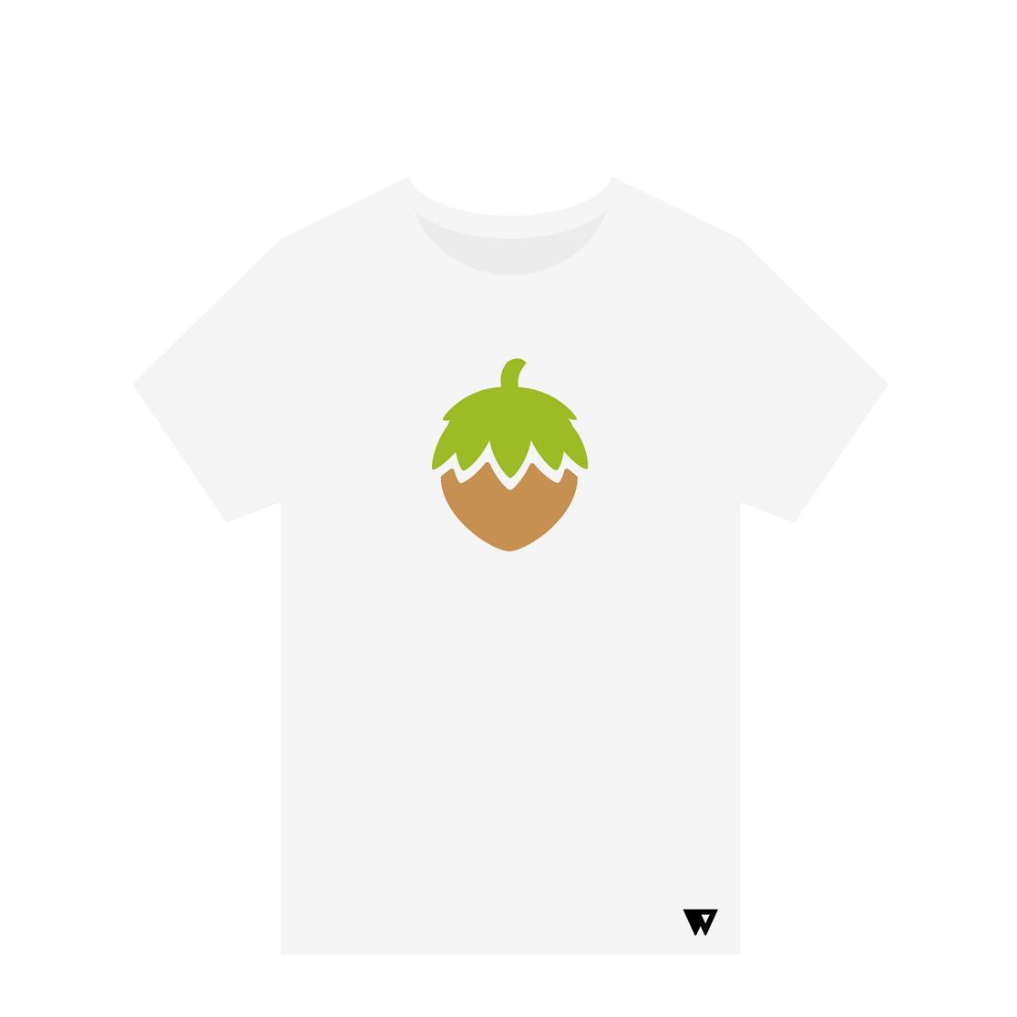 T-Shirt Hazelnut | Wuzzee