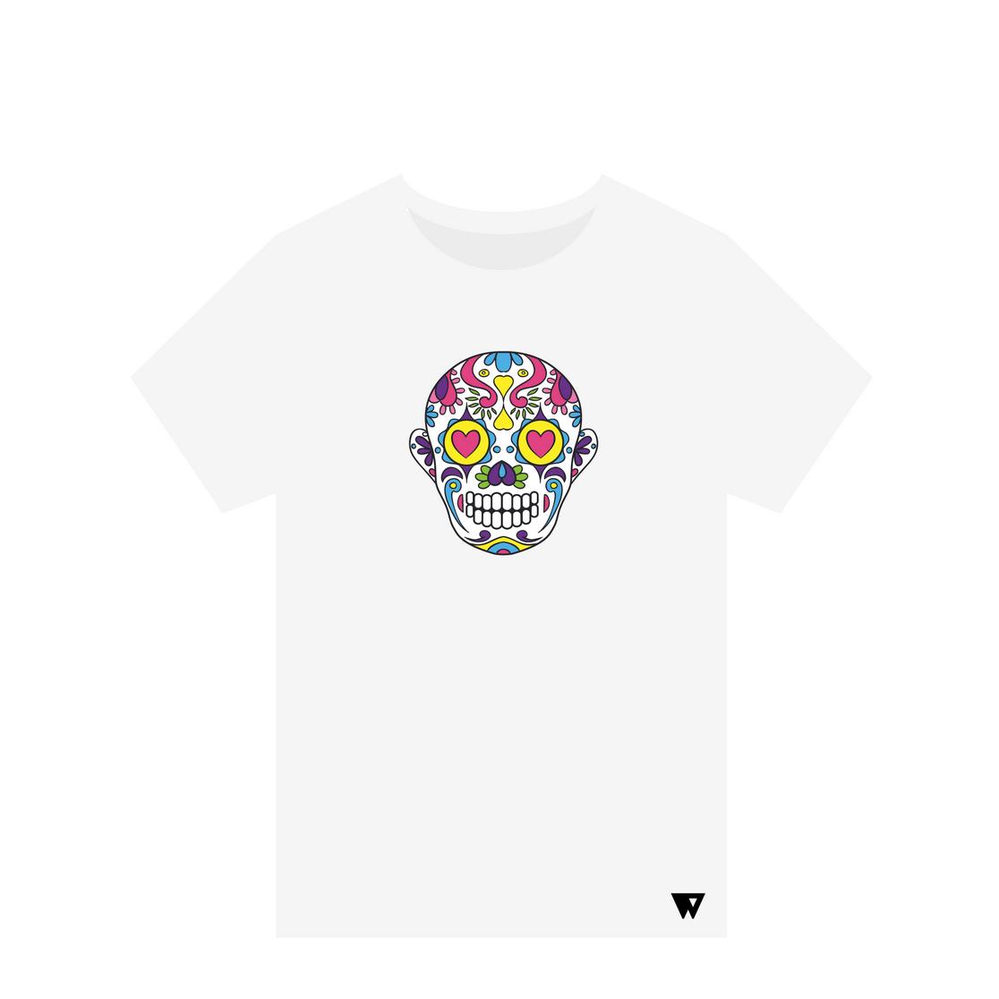T-Shirt Love Skull | Wuzzee
