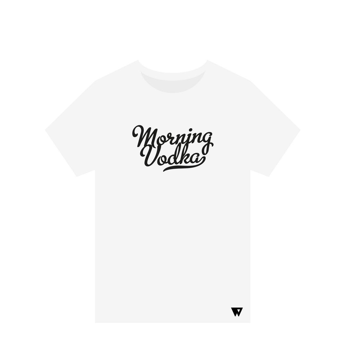 T-Shirt Morning Vodka | Wuzzee