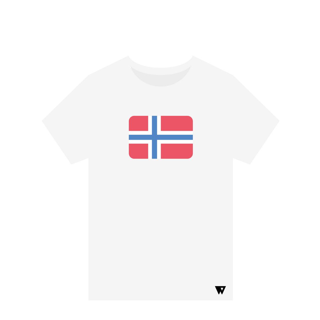 T-Shirt Norway | Wuzzee