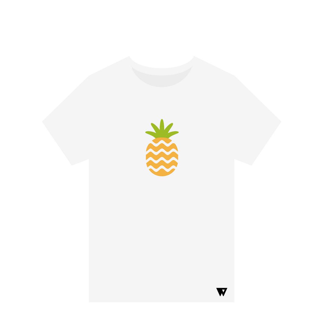 T-Shirt Pineapple | Wuzzee