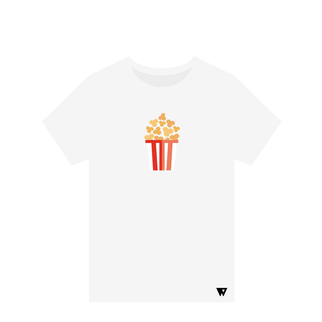 T-Shirt Popcorn | Wuzzee