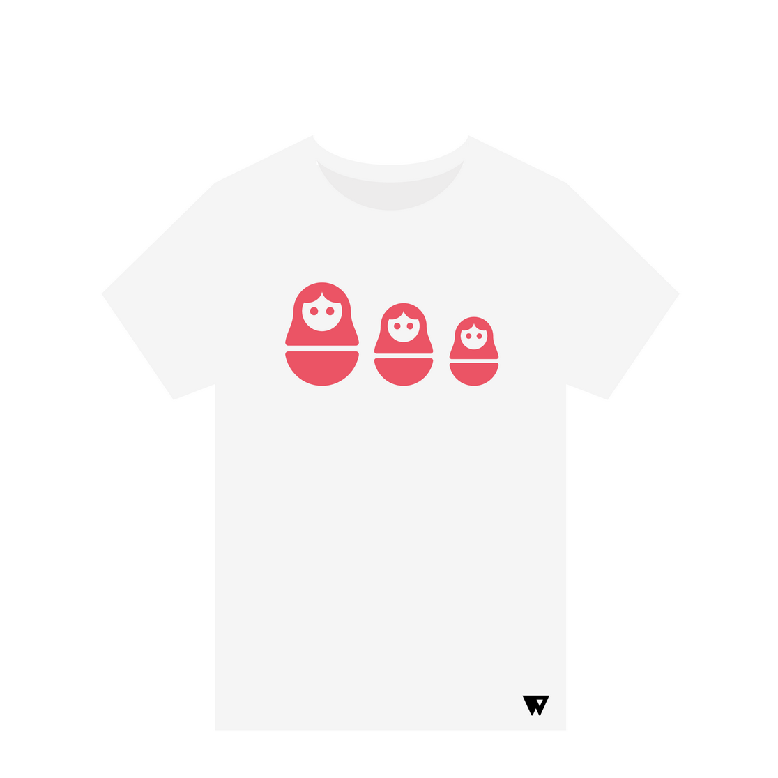 T-Shirt Russian Dolls | Wuzzee